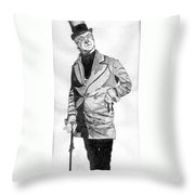 Fields As The Imperishable Wilkins Micawber Throw Pillow