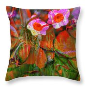 Fields Of Seeds Throw Pillow