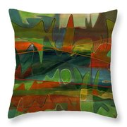 Fields Two Throw Pillow