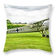 Fieseler Fi 156 Storch Throw Pillow