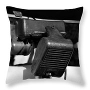Fifties Drive In Theatre Throw Pillow