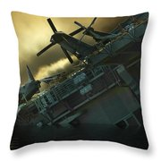 Fighter Jets Home Throw Pillow