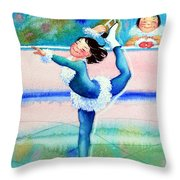 Figure Skater 19 Throw Pillow