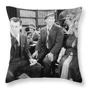 Film: All Aboard, 1927 Throw Pillow