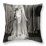 Film: Fair Lady, 1922 Throw Pillow