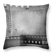 Film Negatives  Throw Pillow