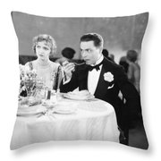 Film Still: Ford & Powers Throw Pillow