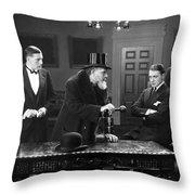 Film Still: Men Group Throw Pillow