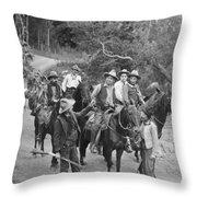 Film: Sunset Jones, 1921 Throw Pillow