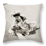 Film: The First Auto, 1927 Throw Pillow