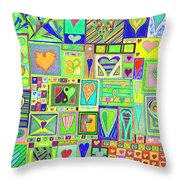 find U'r Love found    v18 Throw Pillow
