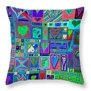 find U'r Love found    v13 Throw Pillow
