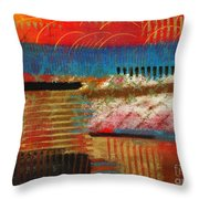 Finding My Way Throw Pillow by Angela L Walker