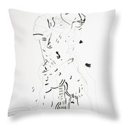 Finding Of Jesus Christ In The Temple Throw Pillow