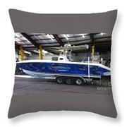 Fine Art Boat Wraps Throw Pillow