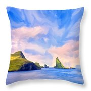 Fiord Throw Pillow
