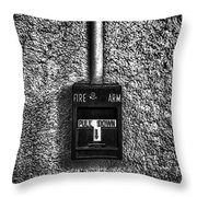 Fire Arm Pull Down Throw Pillow
