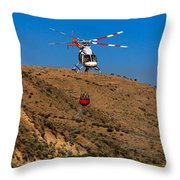 Fire Fighting Throw Pillow