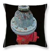 Fire Hydrant IIi Throw Pillow