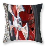 Fire Truck Spinner Throw Pillow