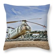 Firebase Charlie Romeo 2 Throw Pillow