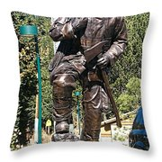 Firefighter Tribute Throw Pillow