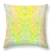 Firefly Macro2 Throw Pillow