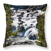 Firehole River IIi Throw Pillow