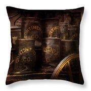 Fireman - Bucket Brigade  Throw Pillow