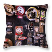 Fireman - Discharge Panel Throw Pillow