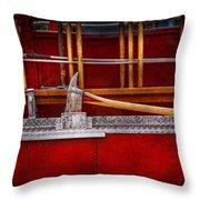 Fireman - Nice Axe  Throw Pillow by Mike Savad