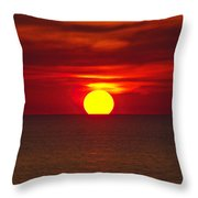 Firesky V2 Throw Pillow
