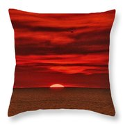 Firesky V3 Throw Pillow