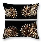 Firework Lifecycle 1 Throw Pillow