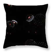 Firework Lifecycle 2 Throw Pillow