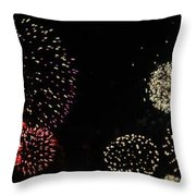 Firework Lifecycle 3 Throw Pillow