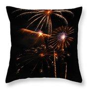 Fireworks 1580 Throw Pillow
