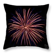 Fireworks 7 Throw Pillow