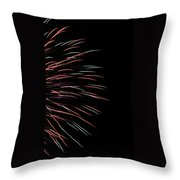 Fireworks Abstract 1 Throw Pillow