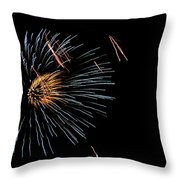 Fireworks Fun 1 Throw Pillow