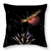 Fireworks Fun 2 Throw Pillow
