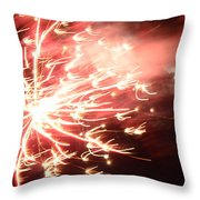 Fireworks In Texas 2 Throw Pillow