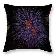 Fireworks Throw Pillow by Joana Kruse