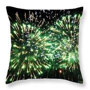 Fireworks Number 4 Throw Pillow