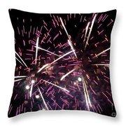 Fireworks Number 5 Throw Pillow