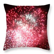 Fireworks Number 7 Throw Pillow