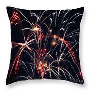 Fireworks Two Throw Pillow