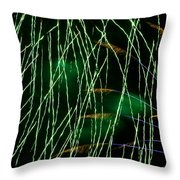 Fireworks Up Close Throw Pillow