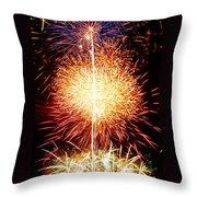 Fireworks_1591 Throw Pillow