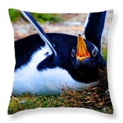 First Amendment Throw Pillow by Tap On Photo